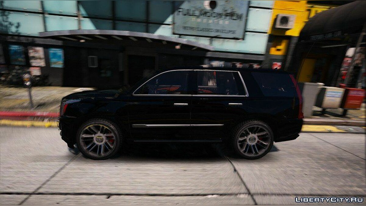 Cadillac Escalade FBI Patrol Vehicle 2015 [Add-On] для GTA 5 - скриншот #2