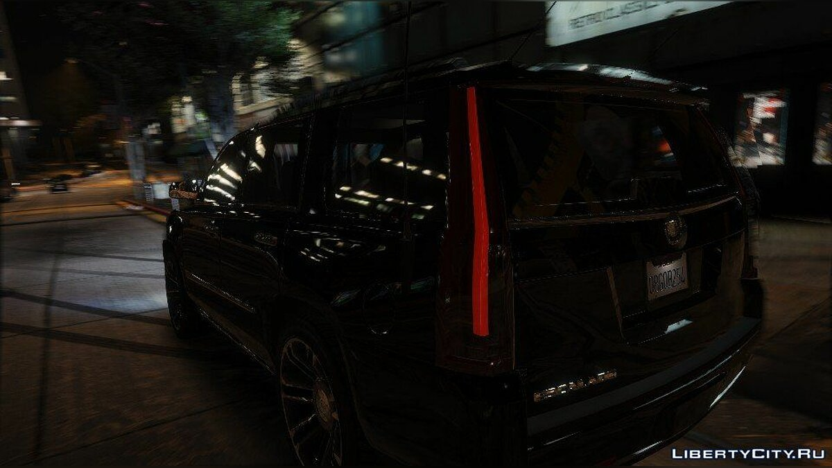 Cadillac Escalade FBI Patrol Vehicle 2015 [Add-On] для GTA 5 - скриншот #4
