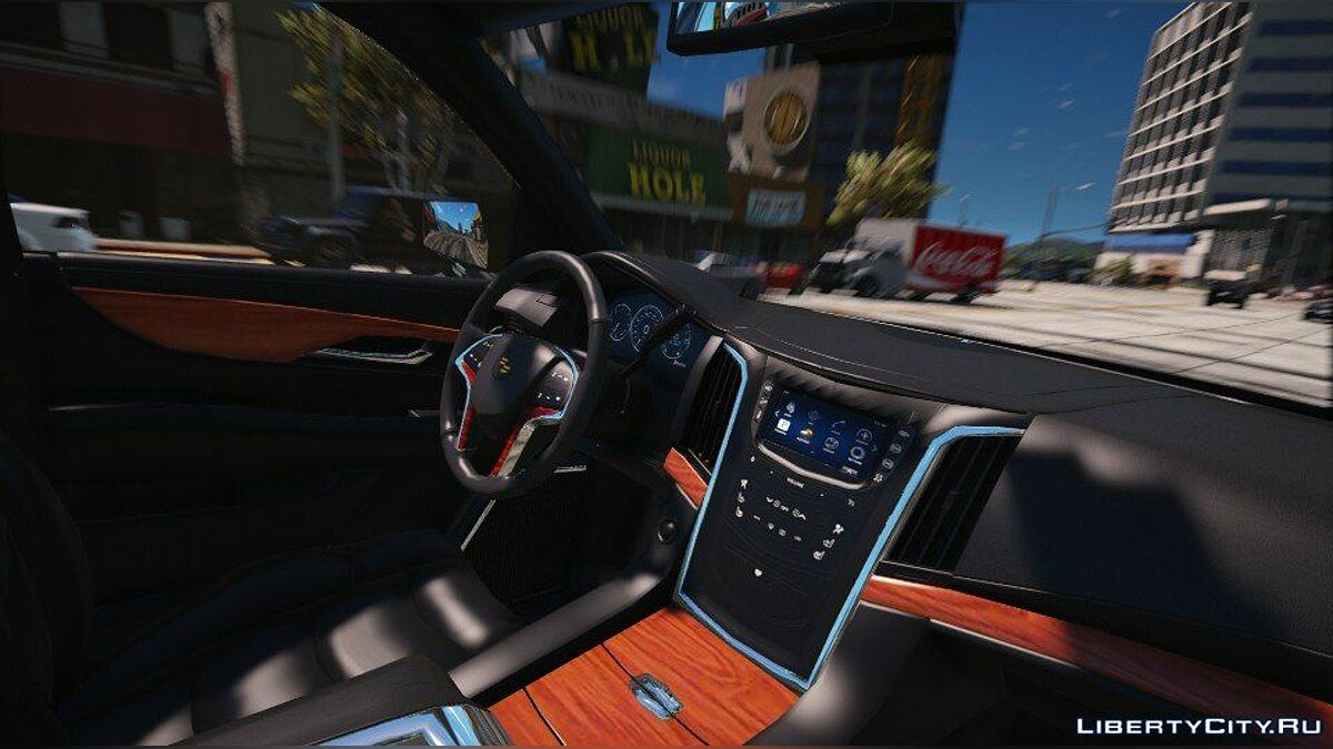 Cadillac Escalade FBI Patrol Vehicle 2015 [Add-On] для GTA 5 - скриншот #6