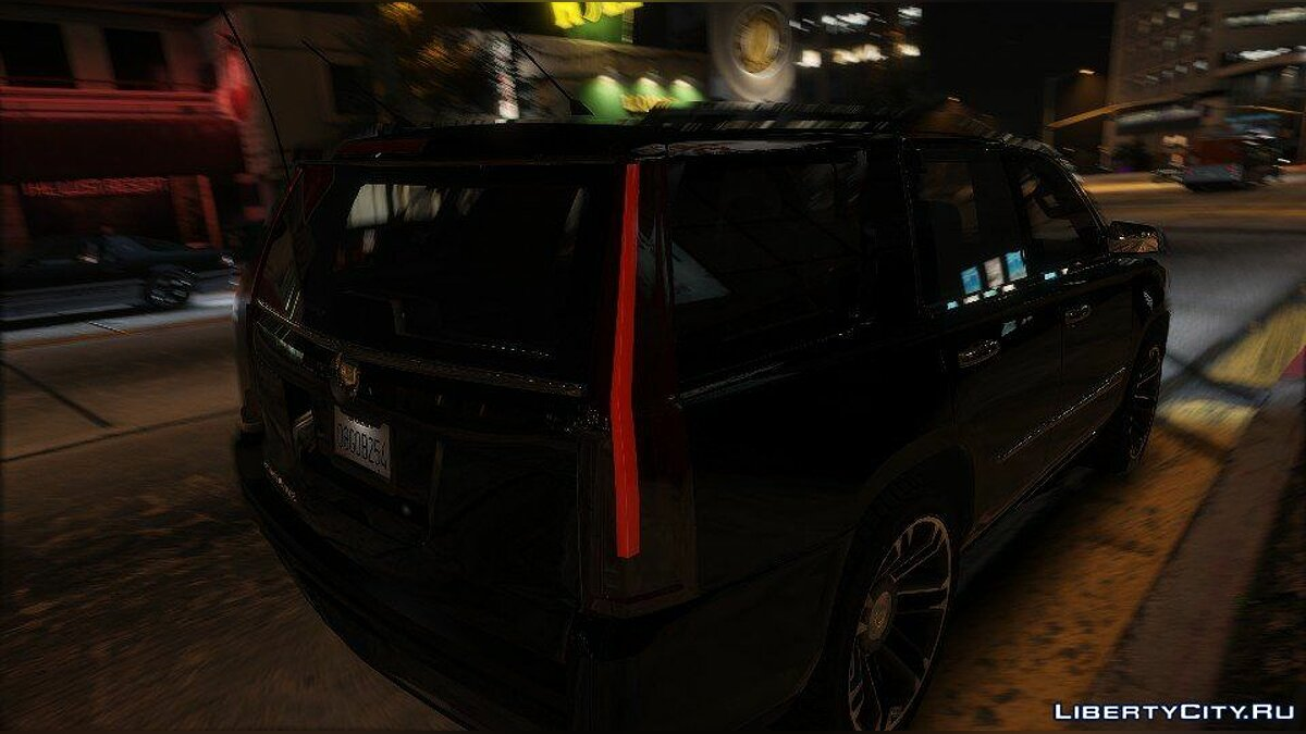 Cadillac Escalade FBI Patrol Vehicle 2015 [Add-On] для GTA 5 - скриншот #7