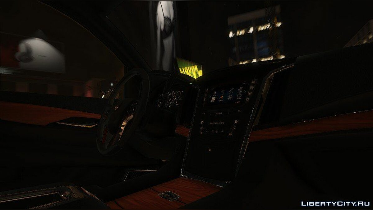 Cadillac Escalade FBI Patrol Vehicle 2015 [Add-On] для GTA 5 - скриншот #8
