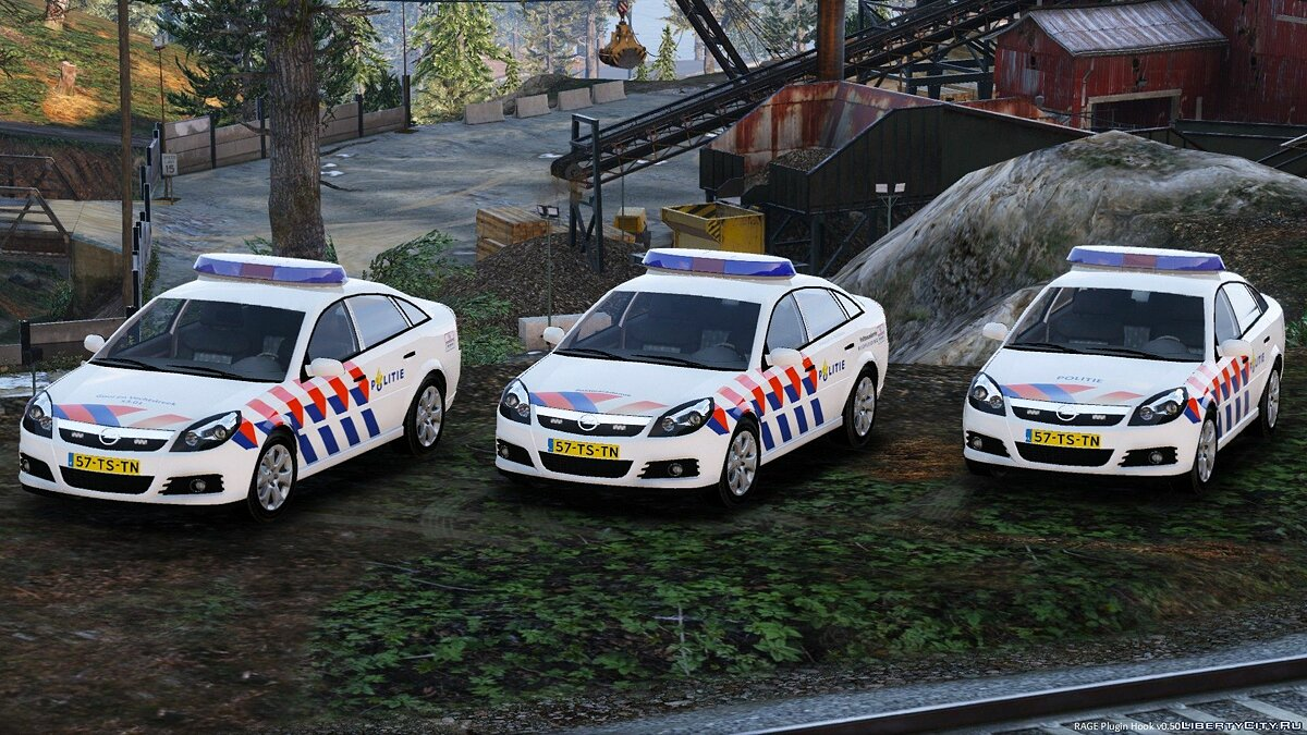 Машина полиции Opel Vectra Dutch Police 1.1 для GTA 5