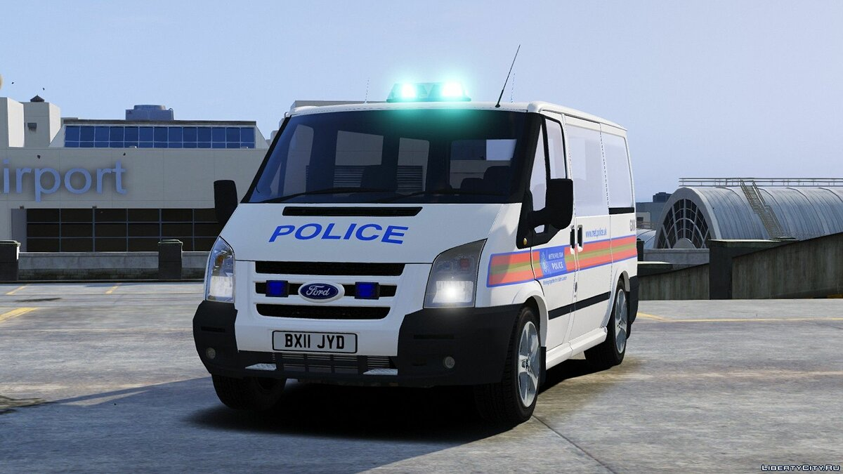 Civilian and Met Police Ford Tourneo [ELS] 1.1 для GTA 5
