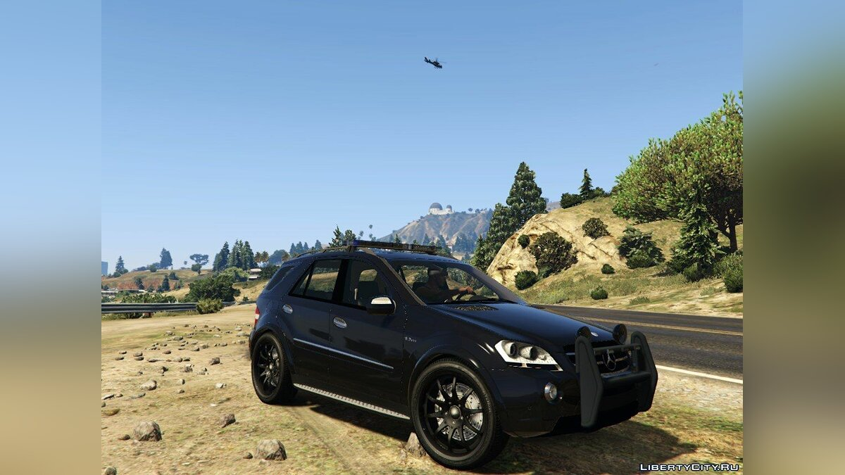 2009 Mercedes-Benz ML63 AMG FBI 2.0 для GTA 5 - скриншот #2