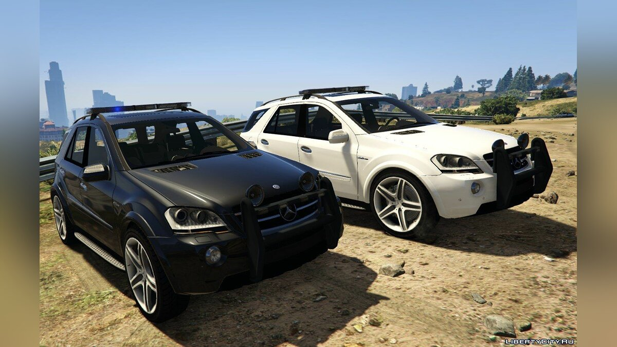 2009 Mercedes-Benz ML63 AMG FBI 2.0 для GTA 5 - скриншот #3