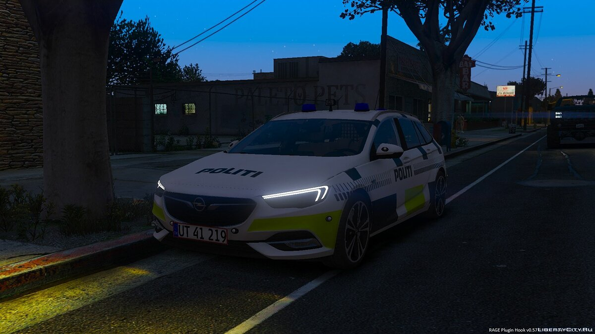 2017 Opel Insignia Sports Tourer - Danish Police - ELS - [REPLACE] BETA для GTA 5
