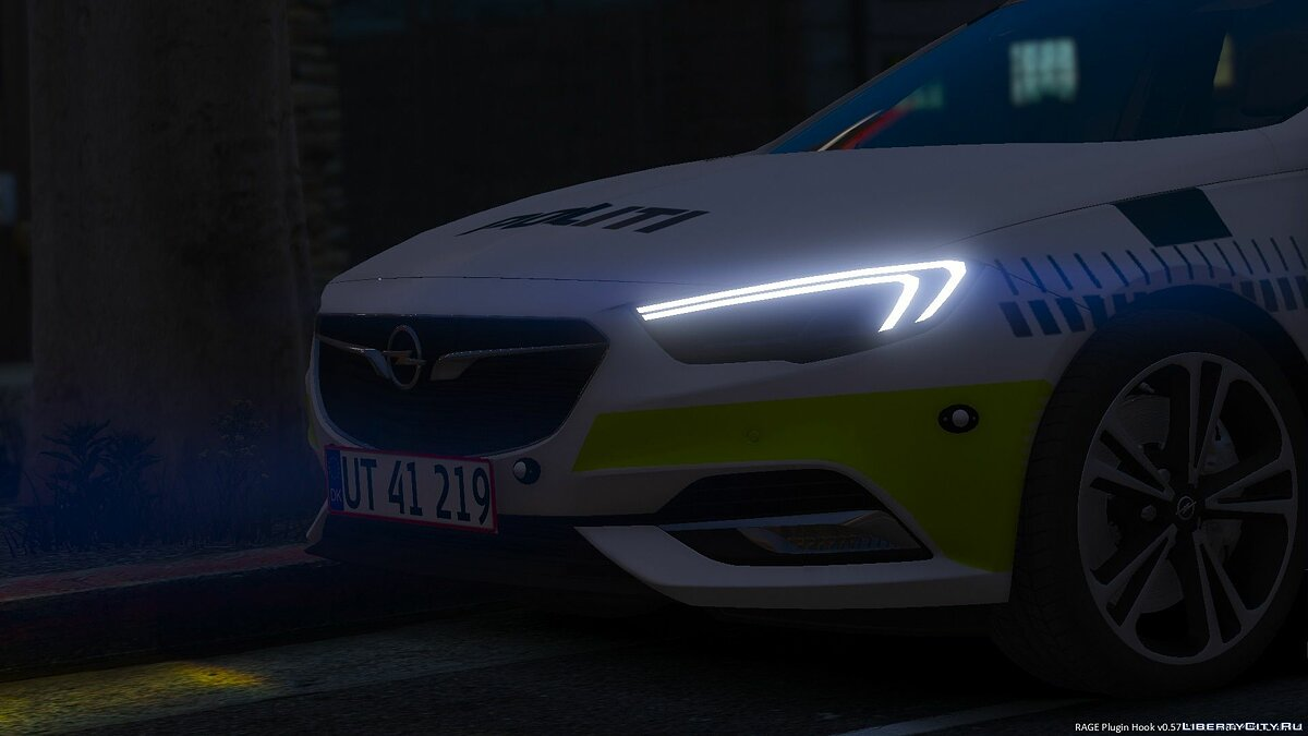 2017 Opel Insignia Sports Tourer - Danish Police - ELS - [REPLACE] BETA для GTA 5 - скриншот #2