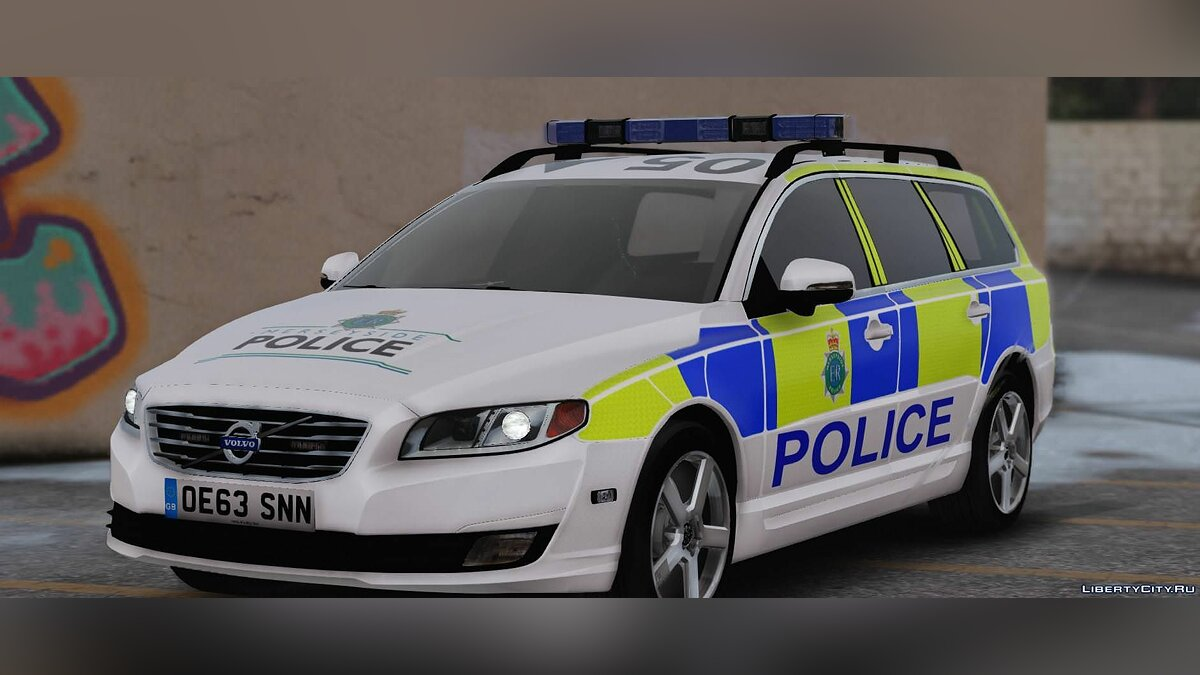 2014 Merseyside Police Volvo V70 Dog Section Pack [ELS] 1.0 для GTA 5 - скриншот #2