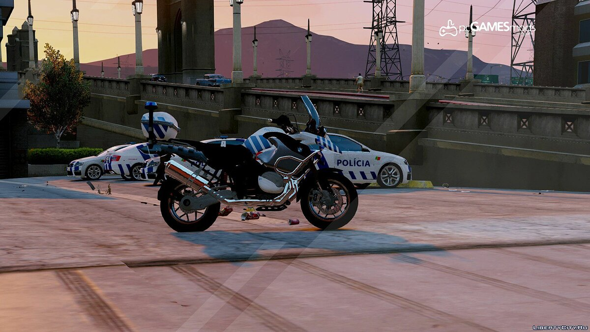 Машина полиции Portuguese Public Security Police - EPRI - BMW GS 1200 [Replace] 1.0 для GTA 5