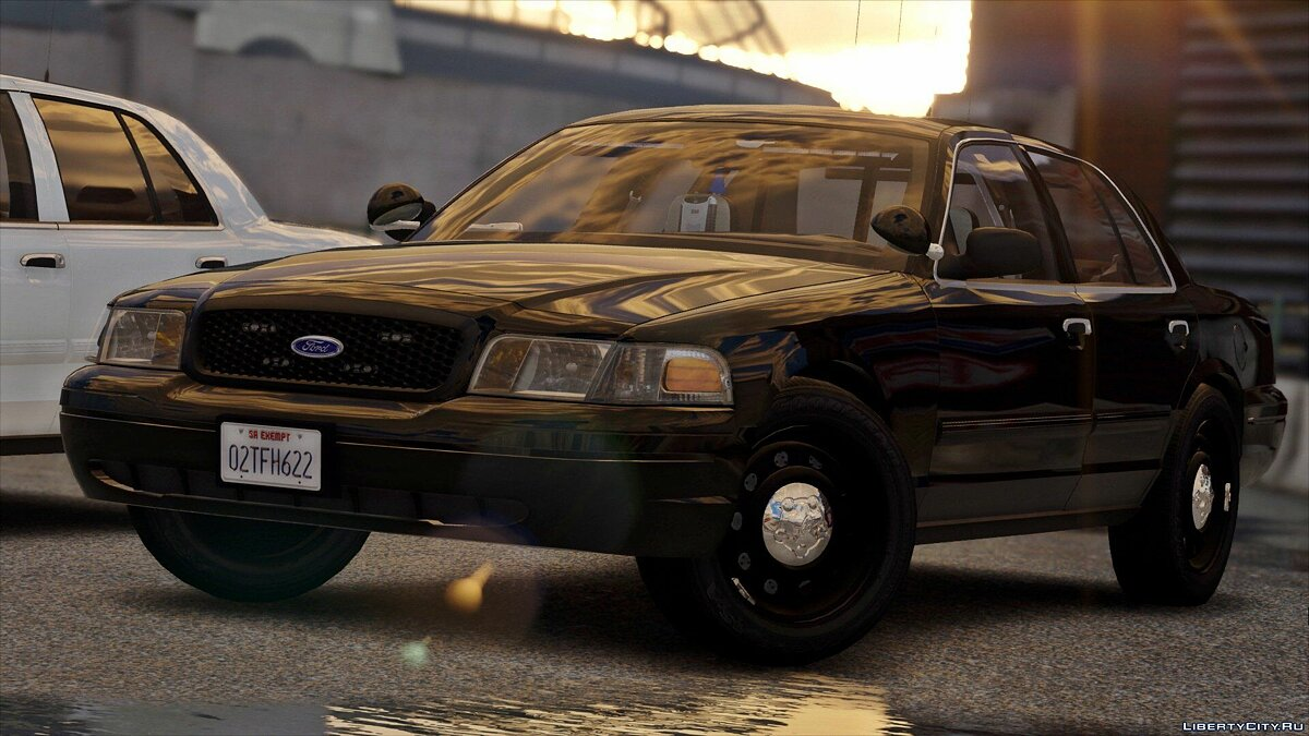 2011 Unmarked Crown Victoria Police Interceptor [ELS] 1.0 для GTA 5