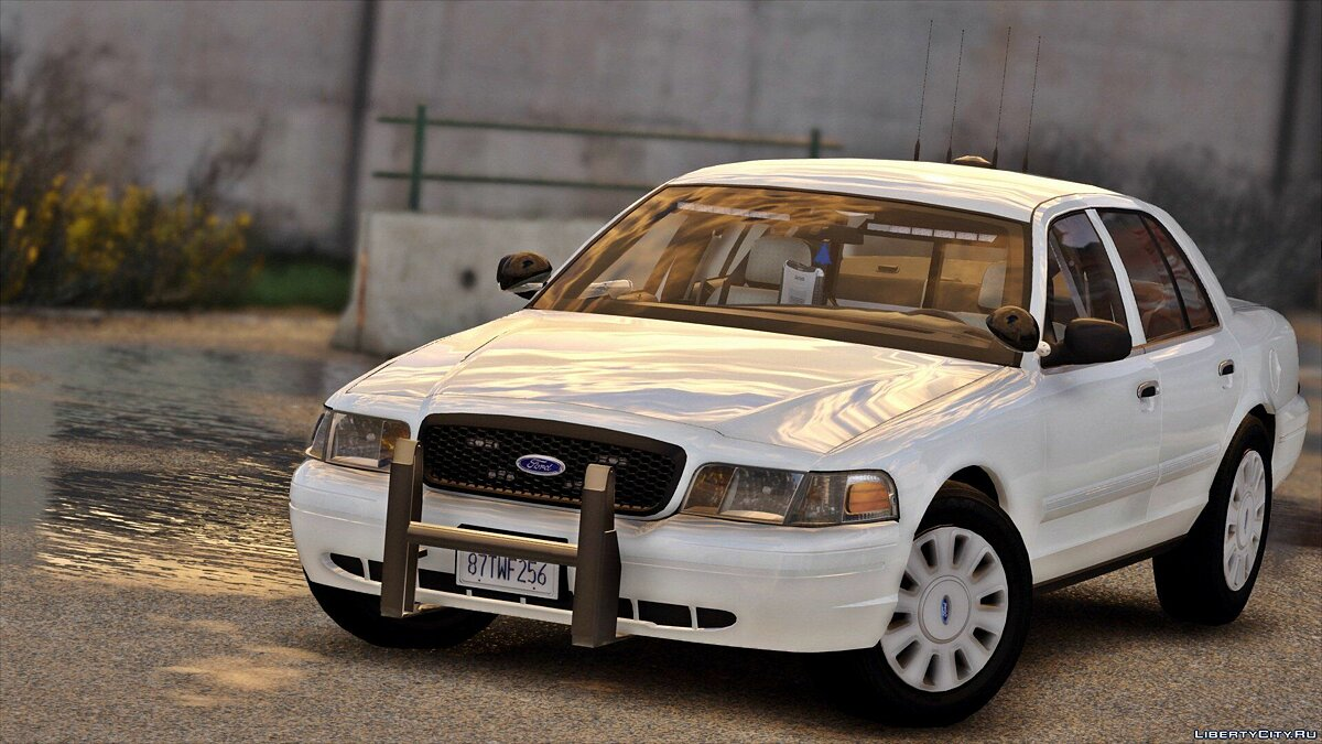 2011 Unmarked Crown Victoria Police Interceptor [ELS] 1.0 для GTA 5 - скриншот #2