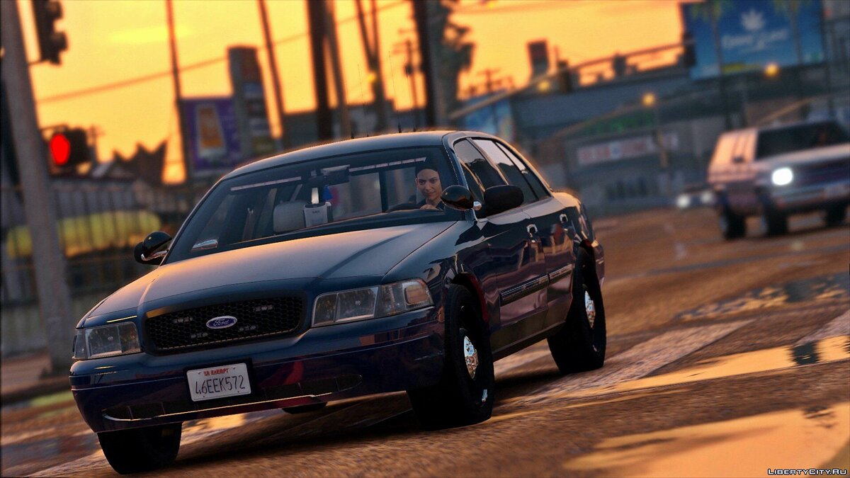 2011 Unmarked Crown Victoria Police Interceptor [ELS] 1.0 для GTA 5 - скриншот #4