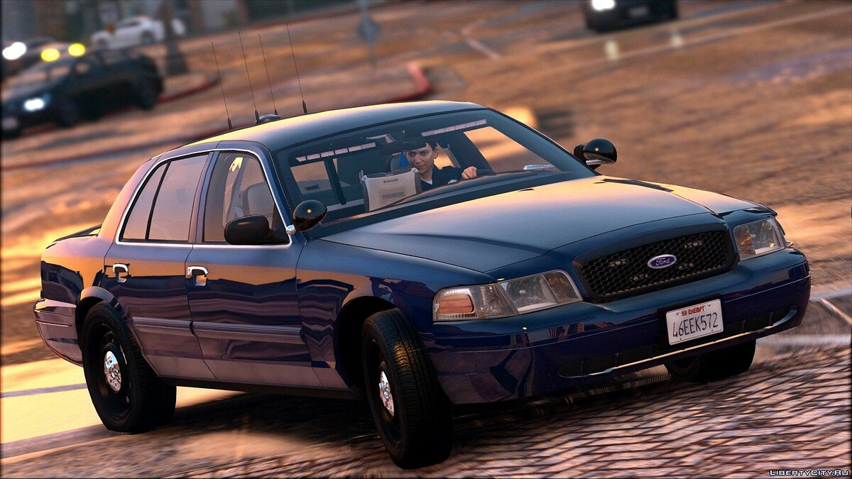 2011 Unmarked Crown Victoria Police Interceptor [ELS] 1.0 для GTA 5 - скриншот #5
