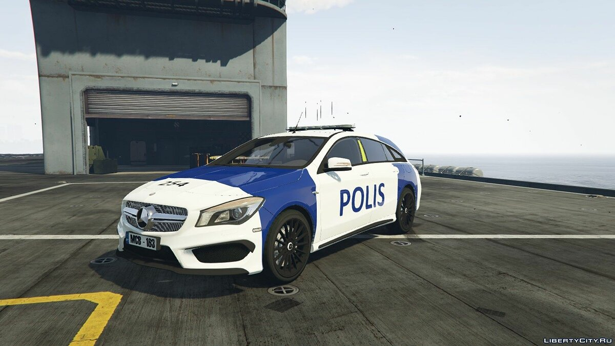 Finnish Police Mercedes-Benz CL 45 AMG LAST для GTA 5