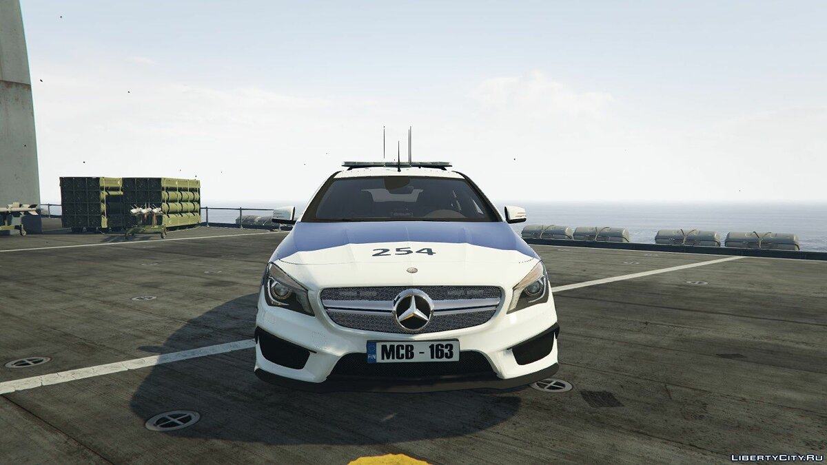 Finnish Police Mercedes-Benz CL 45 AMG LAST для GTA 5 - скриншот #2