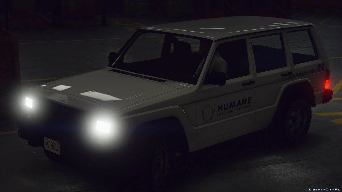 Машина полиции Humane Labs Seminole Frontier Security [Add-On] 1.0 для GTA 5