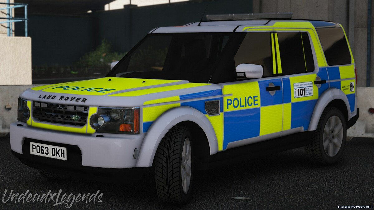 2013 Police Land Rover Discovery 4 [Replace | ELS] V1 для GTA 5