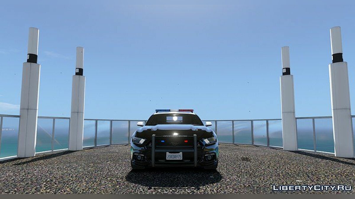 Ford Mustang police (LSPD) 1.0 для GTA 5