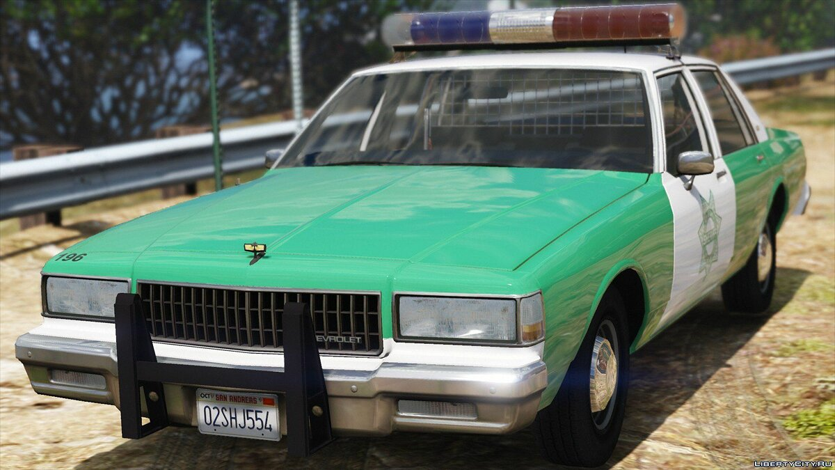 [ELS] 1990 Chevrolet Caprice 9C1 - San Diego County Sheriff's Office 1.0 для GTA 5