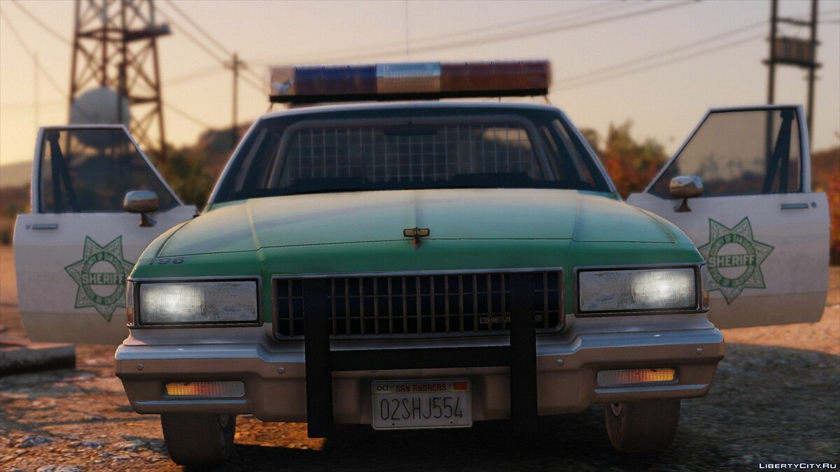 [ELS] 1990 Chevrolet Caprice 9C1 - San Diego County Sheriff's Office 1.0 для GTA 5 - скриншот #2