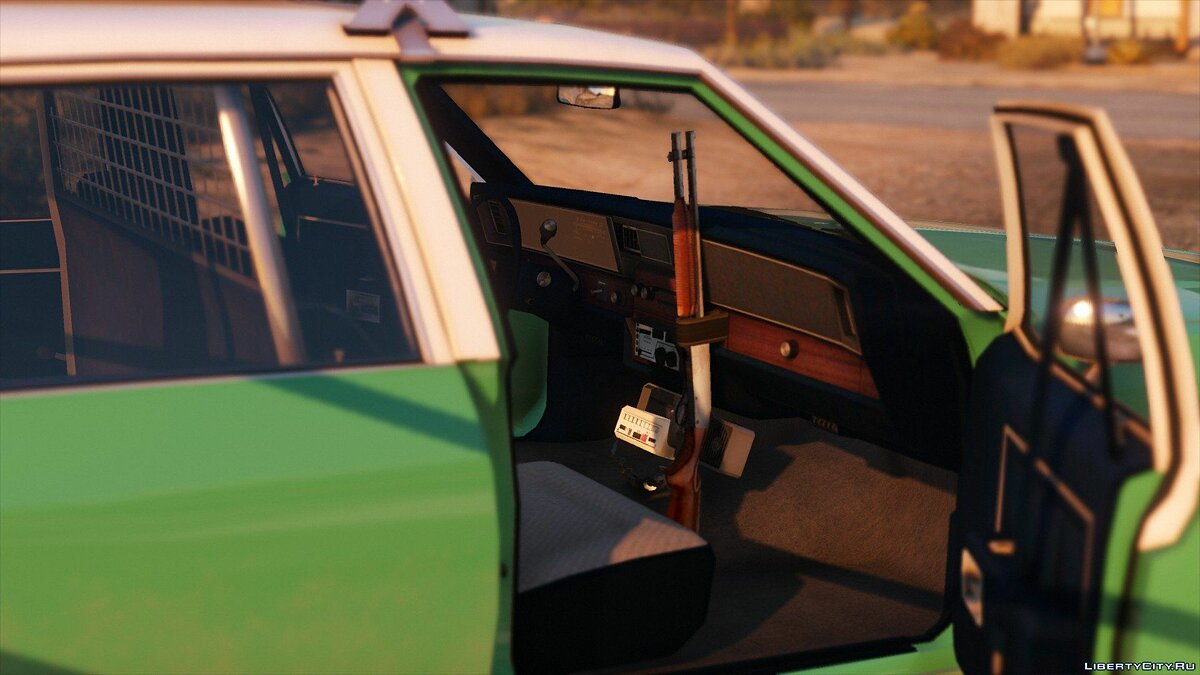 [ELS] 1990 Chevrolet Caprice 9C1 - San Diego County Sheriff's Office 1.0 для GTA 5 - скриншот #3