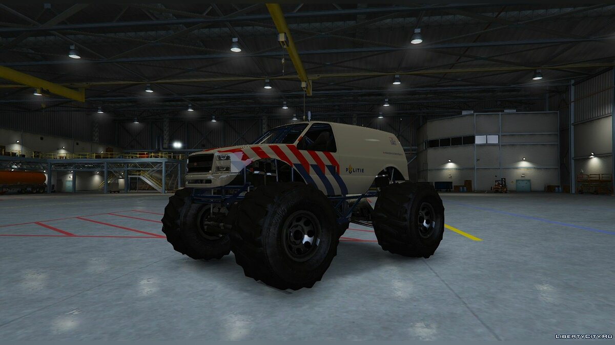 Dutch Monstertruck Police - Nederlandse Monstertruck Politie (Fictief) [ELS] 1.0 для GTA 5