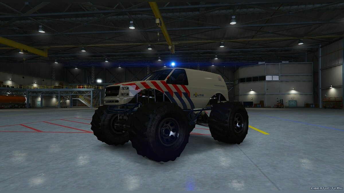 Dutch Monstertruck Police - Nederlandse Monstertruck Politie (Fictief) [ELS] 1.0 для GTA 5 - скриншот #2