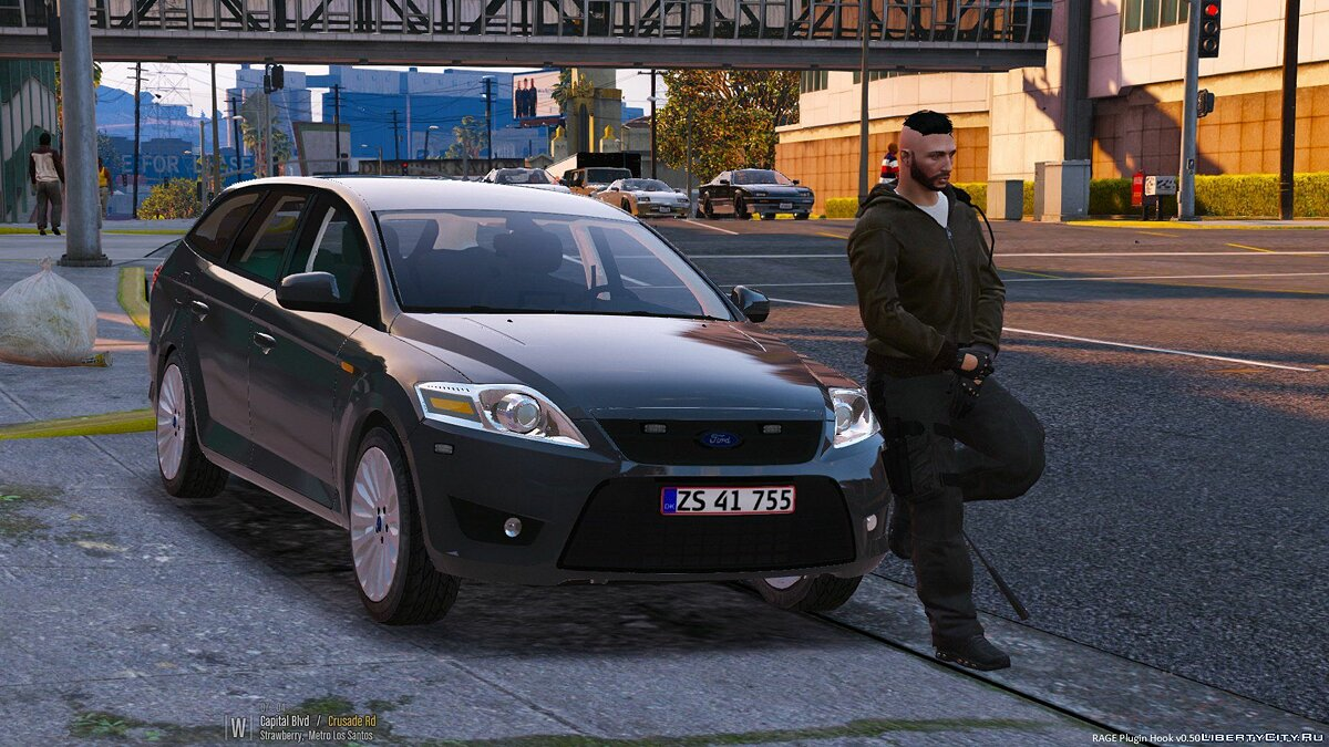 Ford Mondeo - Unmarked - Danish Police 1.0 для GTA 5
