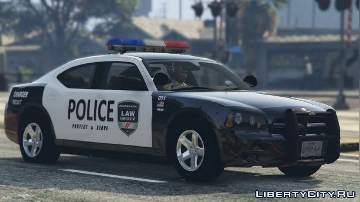 ��ашина полиции 2009 Dodge Charger Police Package [Non ELS] 1.0 для GTA 5