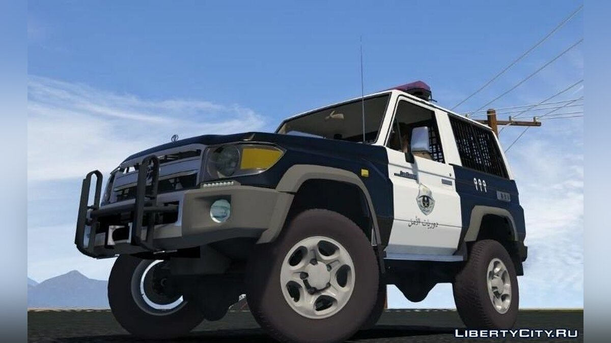 Toyota Land Cruiser Machito Police 2014 [Replace | Livery | Extras] 0.8 для GTA 5