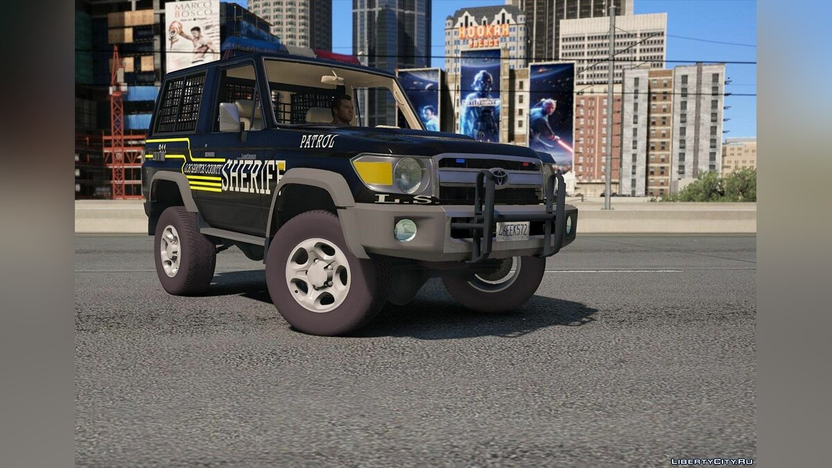 Toyota Land Cruiser Machito Police 2014 [Replace | Livery | Extras] 0.8 для GTA 5 - скриншот #7