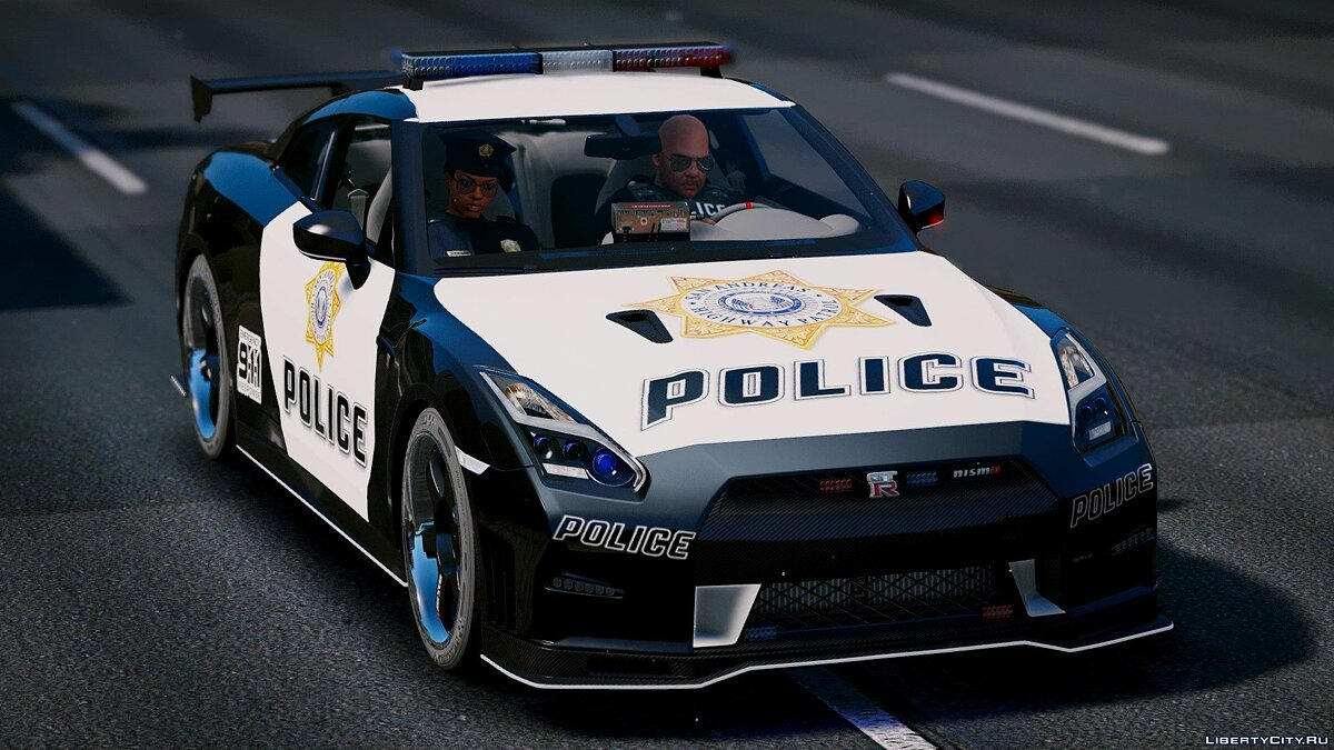 Nissan GT-R Nismo Police Edition [Add-On | Tuning] для GTA 5