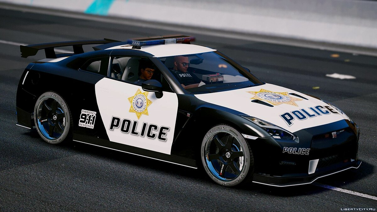 Nissan GT-R Nismo Police Edition [Add-On | Tuning] для GTA 5 - скриншот #2