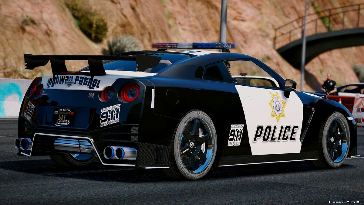 Nissan GT-R Nismo Police Edition [Add-On | Tuning] для GTA 5 - скриншот #3