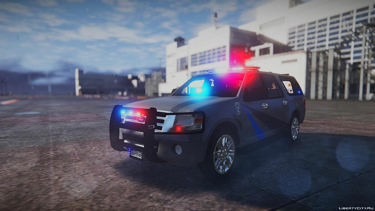 2010 Ford Expedition - State Troopers [ELS] 1.0 для GTA 5