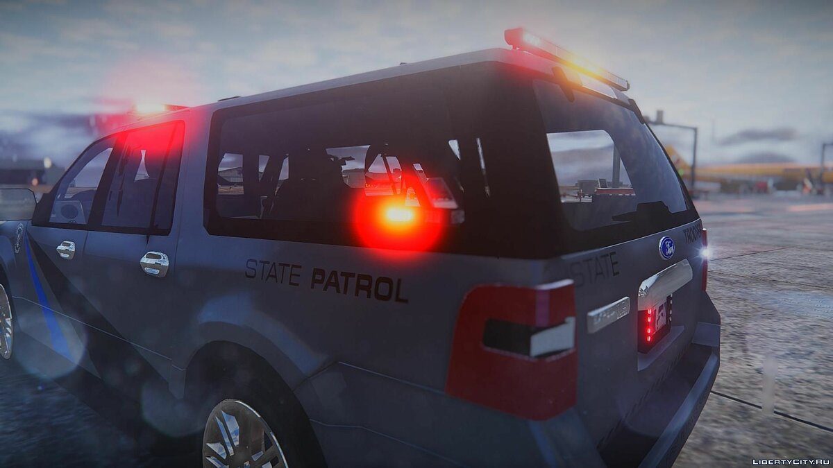 2010 Ford Expedition - State Troopers [ELS] 1.0 для GTA 5 - скриншот #2