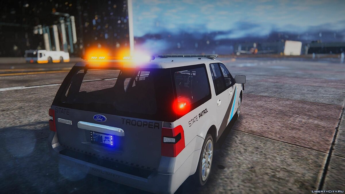 2010 Ford Expedition - State Troopers [ELS] 1.0 для GTA 5 - скриншот #3