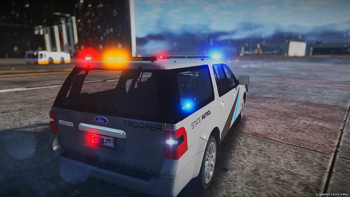 2010 Ford Expedition - State Troopers [ELS] 1.0 для GTA 5 - скриншот #4
