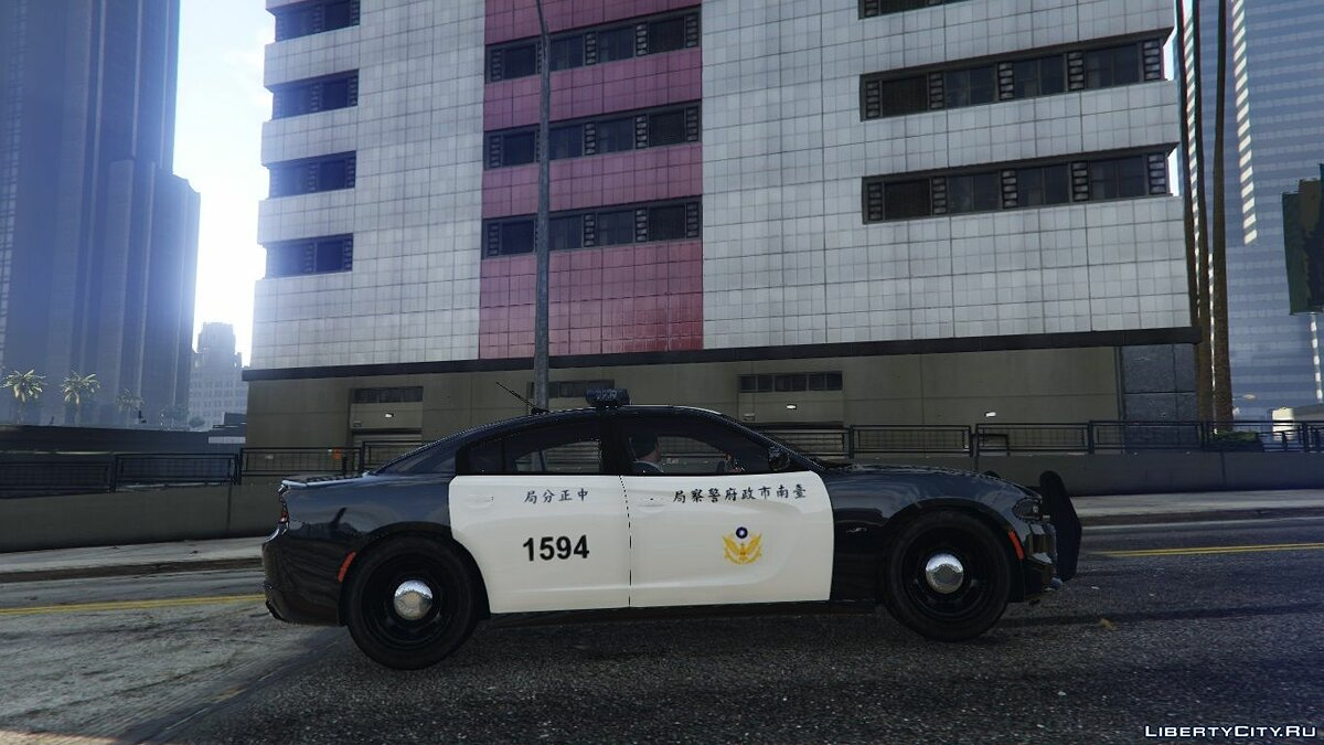 Taiwan Police 2015 Dodge Charger RT 2.0 для GTA 5
