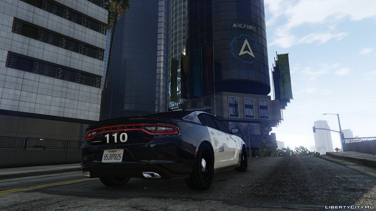 Taiwan Police 2015 Dodge Charger RT 2.0 для GTA 5 - скриншот #2