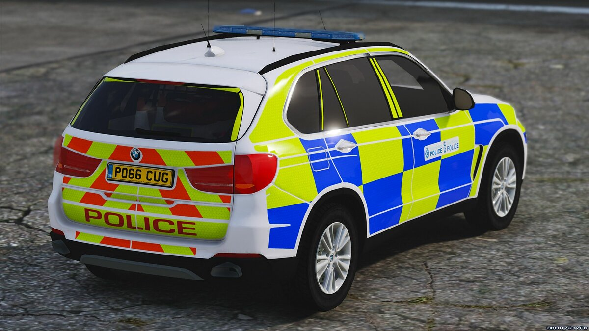 West Mercia Police BMW X5 [ELS] 1.0 для GTA 5 - скриншот #2