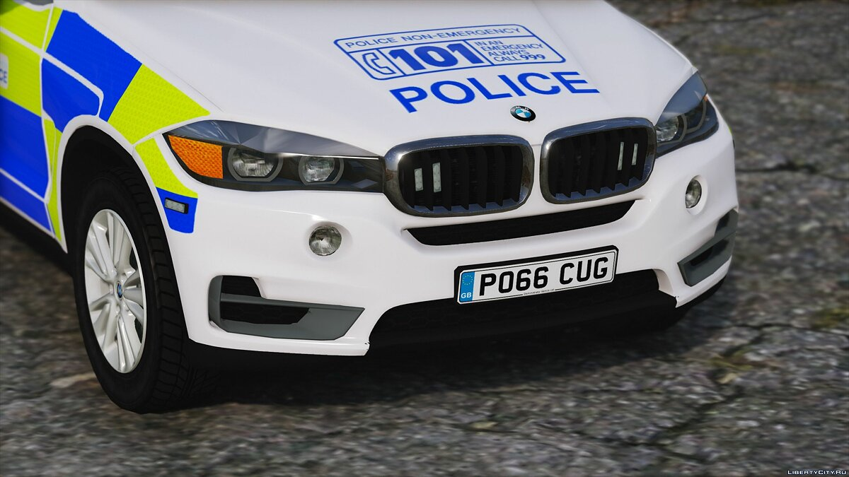 West Mercia Police BMW X5 [ELS] 1.0 для GTA 5 - скриншот #3