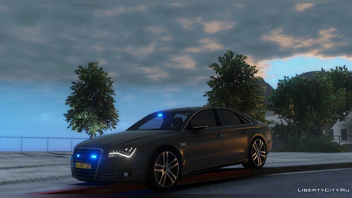 Audi A8 Dutch FBI 1.0 для GTA 5