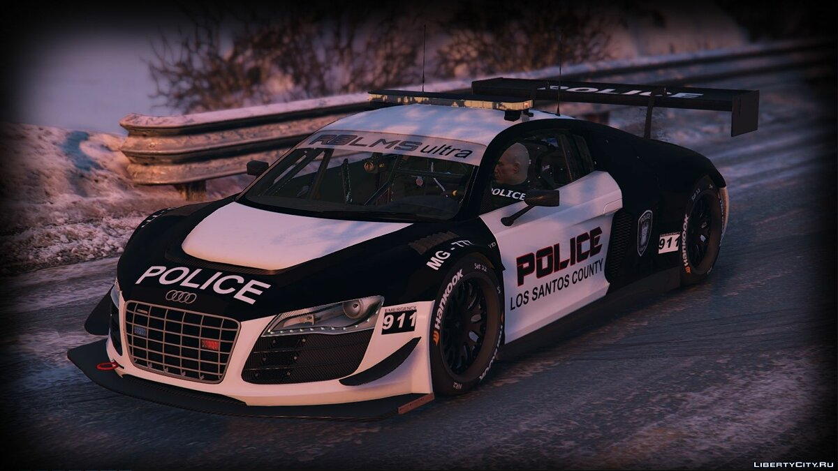 Audi R8 LMS Pursuit Edition 1.0 для GTA 5