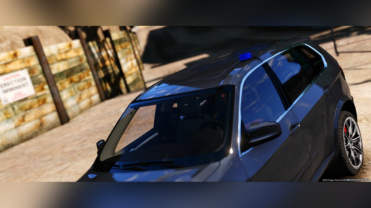 BMW X5 Unmarked Dutch Police 1.0 для GTA 5 - скриншот #3