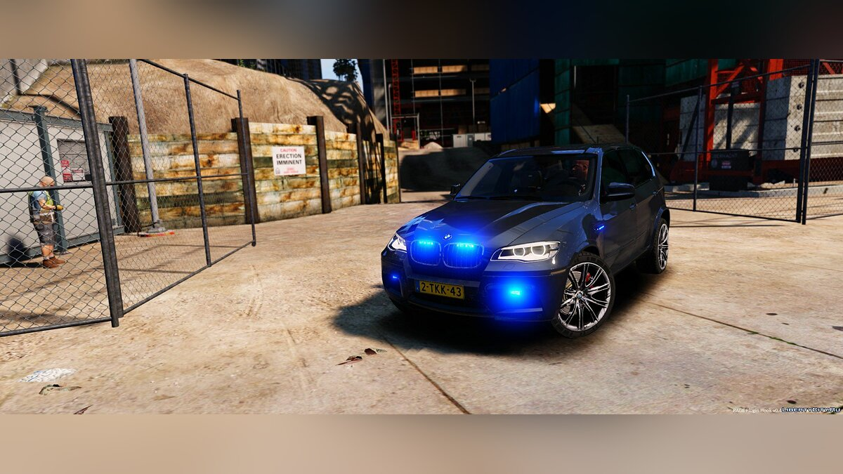 BMW X5 Unmarked Dutch Police 1.0 для GTA 5 - скриншот #5
