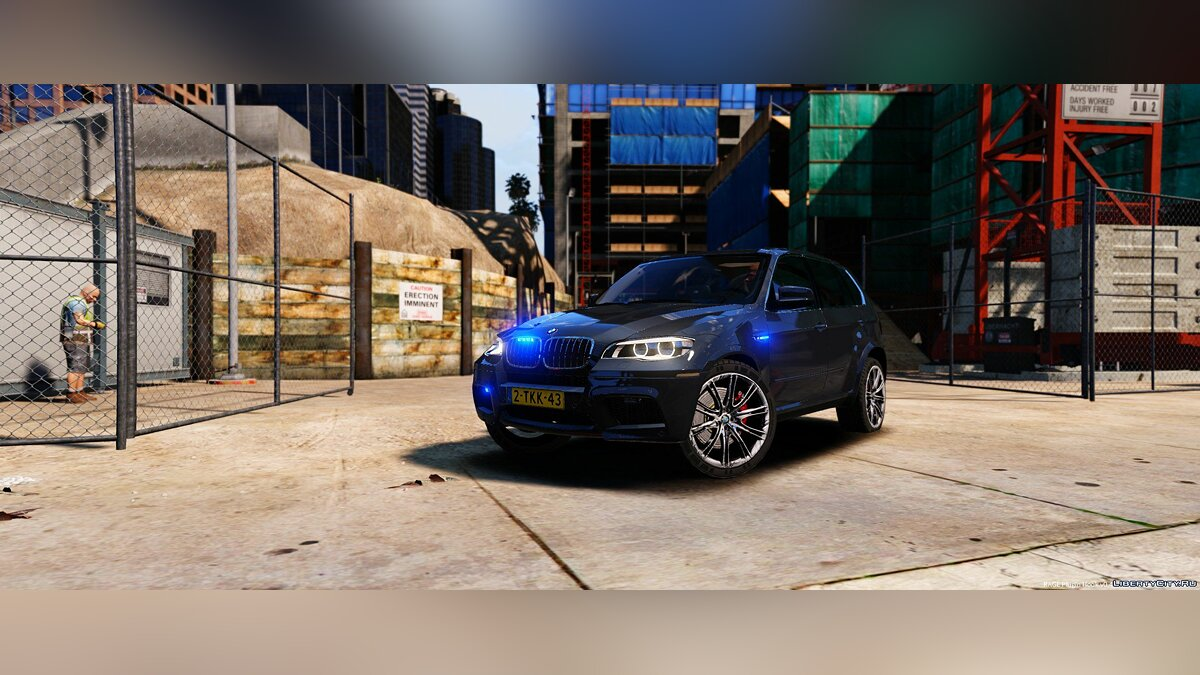 BMW X5 Unmarked Dutch Police 1.0 для GTA 5 - скриншот #2