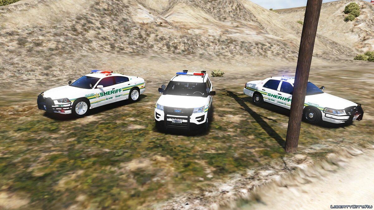 Blaine County Sheriff's Office [ELS] Pack #3 1.0.0 для GTA 5