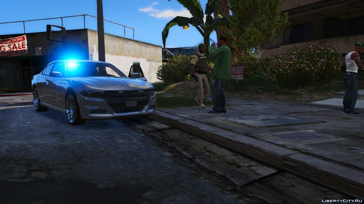 AWD Detective's Dodge Charger [ELS] 1.0.0 для GTA 5