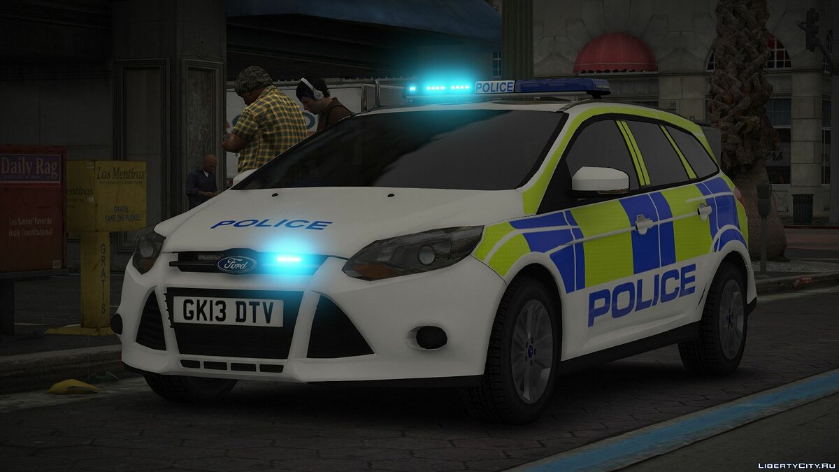 Машина полиции Ford Focus Incident Response Vehicle ELS 1.0 для GTA 5